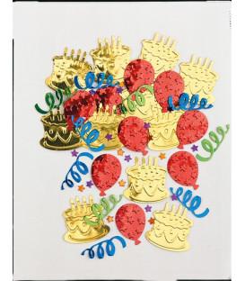 Confetti da tavola Torta e Palloncini