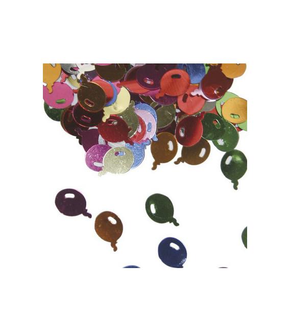 Confetti da tavola a forma di palloncini