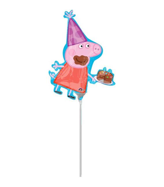 Pallone foil Minishape Peppa Pig