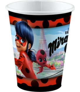 Bicchiere 250 ml Miraculous Lady Bug