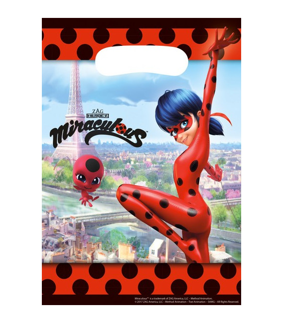 Loot Bag Miraculous Lady Bug