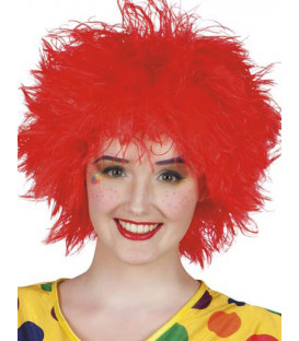 Parrucca rossa Wig Frizzy Red