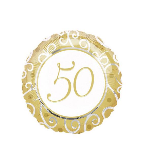 Pallone foil standard 50th Anniversary
