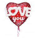 Pallone foil Multi-balloon Love Hearts & Dots