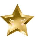 Piatti Stella Oro 6 Pz