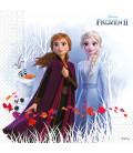 Tovagliolo di carta 33 x 33 Frozen II Disney