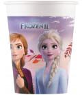 Bicchiere di carta compostabile Frozen II Disney