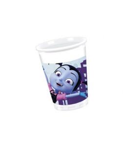 Bicchiere di plastica 200 ml Vampirina