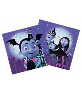 Tovagliolo di carta 33 cm Vampirina 3 confezioni