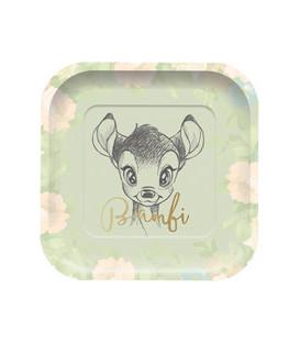 Piatto quadrato Bambi