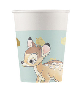 Bicchiere di carta 200 ml Bambi Disney