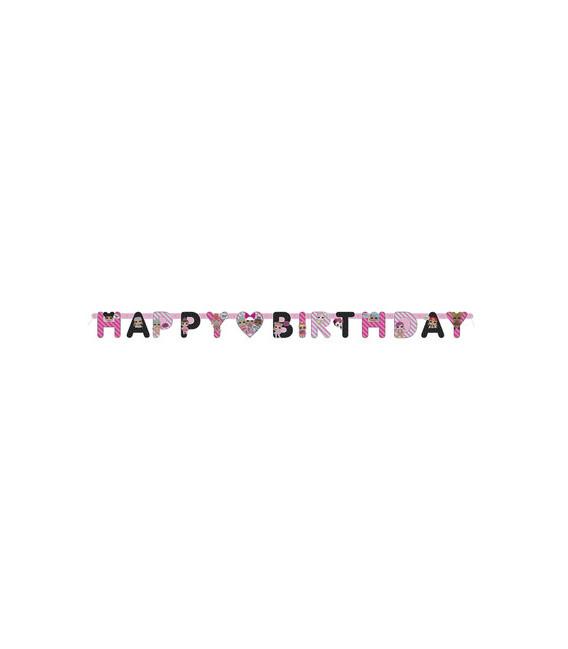 Festone Happy Birthday LOL Surprise