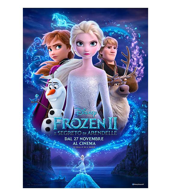 Piatto di carta Piano 23 cm Frozen II Disney