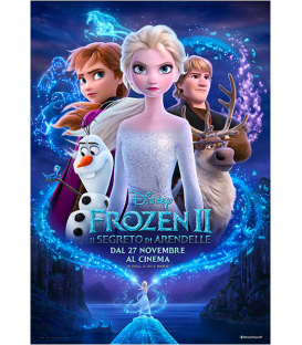Bicchiere di carta compostabile Frozen II Disney