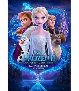 Festone bandierine di plastica Frozen II Disney