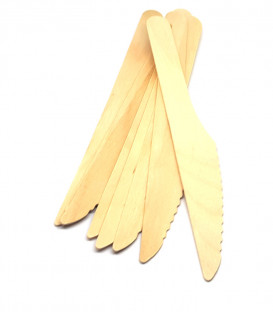 Coltelli in Legno 8 Pz - 16 cm