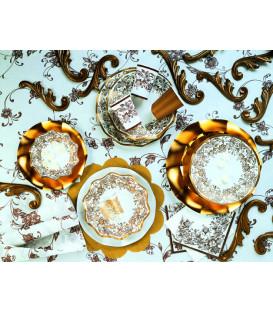 Tovaglioli 3 Veli Noblesse Oro 33 x 33 cm 3 confezioni