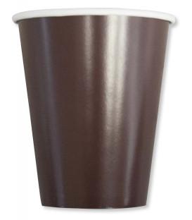 Bicchieri Compostabili Marroni Cioccolata 250 cc