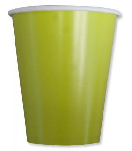 Bicchieri Compostabili Verdi 250 cc
