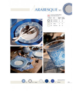 Tovaglioli Arabesque 33 x 33 cm 3 confezioni