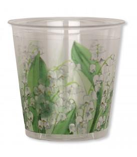Bicchieri di Plastica Mughetto 300 cc