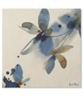 Tovaglioli 3 Veli Fiore Blu 33x33 cm 3 confezioni