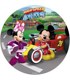 Disco in Zucchero Topolino e Minnie Senza Glutine 20 cm Disney