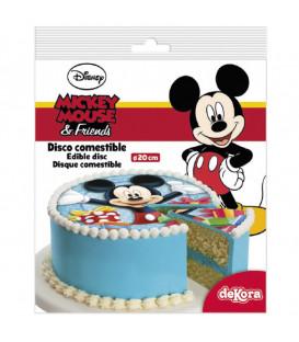 Disco in Zucchero Topolino Senza Glutine 20 cm Disney