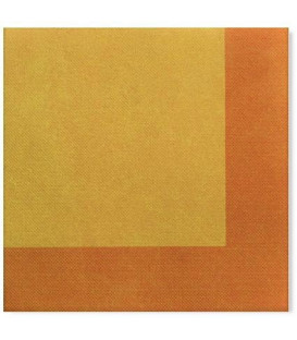 Tovaglioli Bicolore Giallo - Arancione 33 x 33 cm 3 confezioni