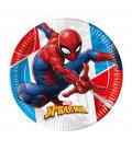 Piatto Piano Compostabile SpiderMan Super Hero 20 cm