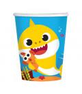 Bicchiere di carta 266 ml Baby Shark 8 pz