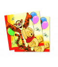 Tovagliolo 33 x 33 cm Winnie the Pooh Hugs Disney