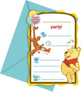 Biglietti Inviti Compleanno Winnie the Pooh Sweet Tweets Disney