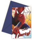Biglietti Inviti Compleanno The Amazing Spiderman Disney
