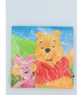 Tovagliolo 33 x 33 cm Winnie the Pooh Adventures Disney