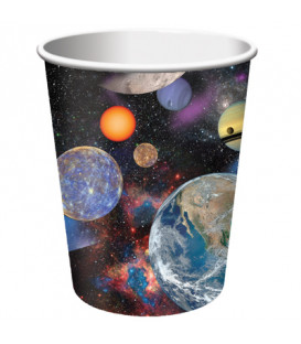 Bicchieri di carta 266 ml Space Blast