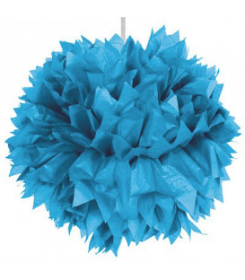Fluffy carta 30 cm Turchese 1 pz