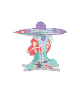 Alzata per dolci 3D Ariel Under The Sea 1 Pz Disney