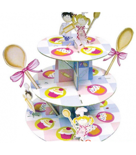 Alzata per dolci Cupcake 1 Pz