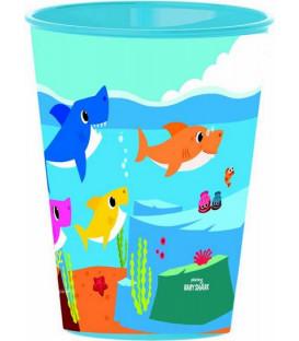 Bicchiere 260 ml Baby Shark 1 Pz