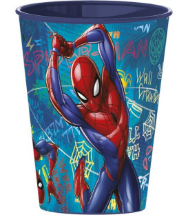 Bicchiere 260 ml Spiderman Disney 1 Pz