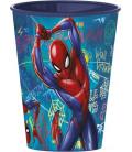 Bicchiere 260 ml Spiderman Disney 1 Pz