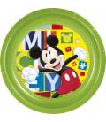 Piatto Piano 23 cm Mickey Disney 1 Pz