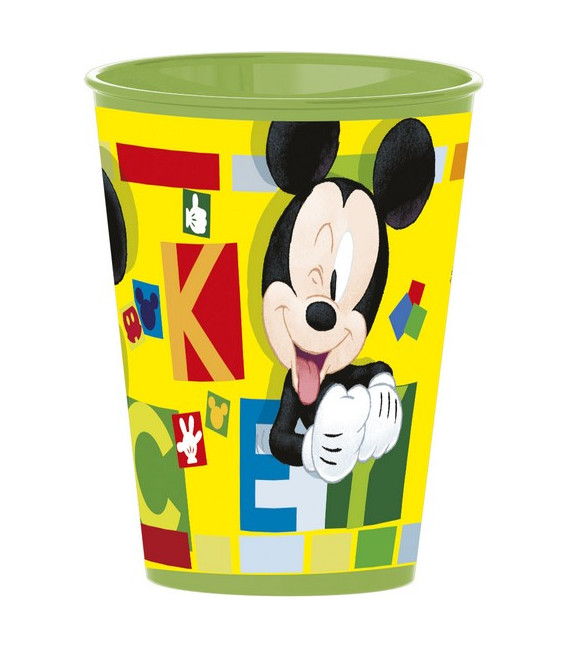 Bicchiere 260 ml Mickey Disney 1 Pz