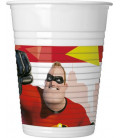 Bicchiere plastica 200 ml INCREDIBLES 2 Disney