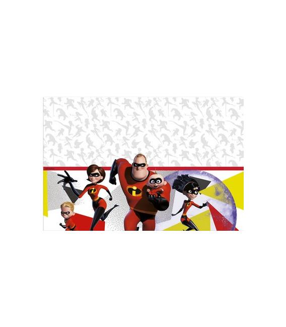 Tovaglia plastica 120 x 180 cm INCREDIBLES 2 Disney 1 Pz