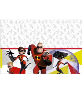Tovaglia plastica 120 x 180 cm INCREDIBLES 2 Disney 1 Pz