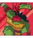 Tovagliolo 33 x 33 cm Tartarughe Ninja TMNT 3 confezioni