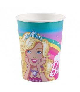Bicchiere 250 ml Barbie Dreamtopia 8 pz