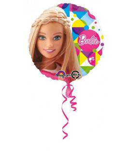 """Pallone foil Standard 17"""" - 42 cm Barbie Sparkle 1 pz"""